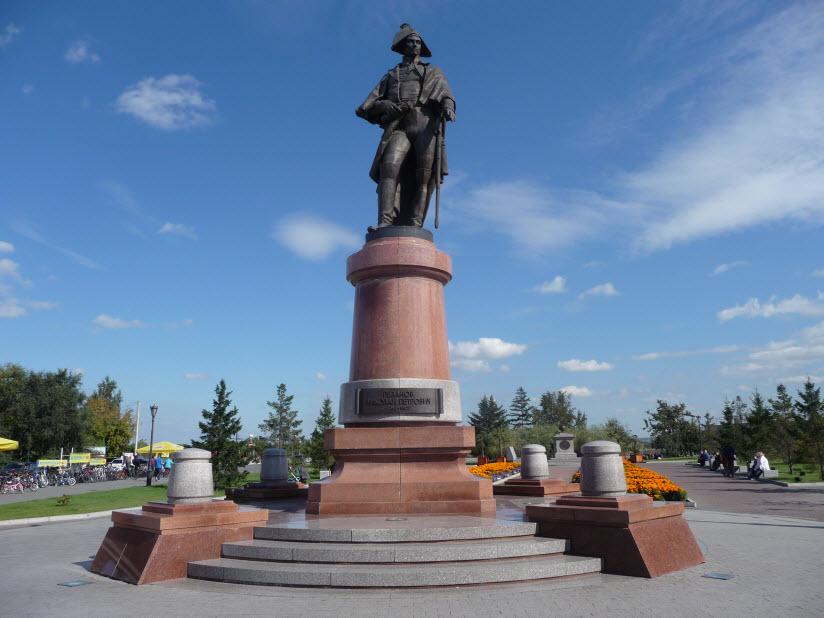 Памятник Николаю Резанову