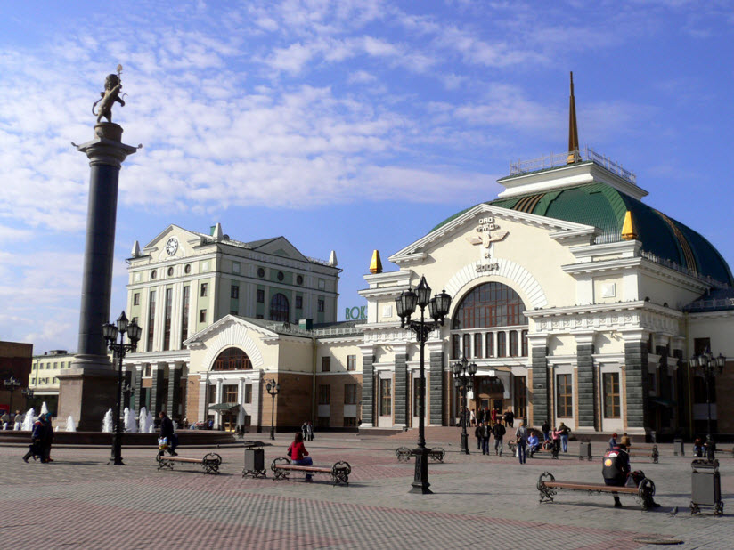 Вокзал Красноярска