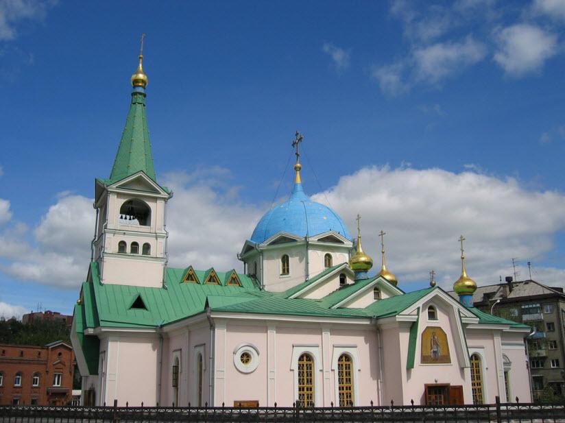 Вознесенский собор в Новосибирске