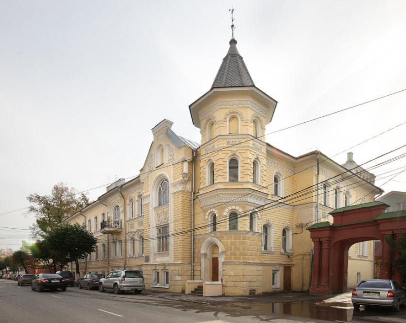 Особняк П. Лебедева