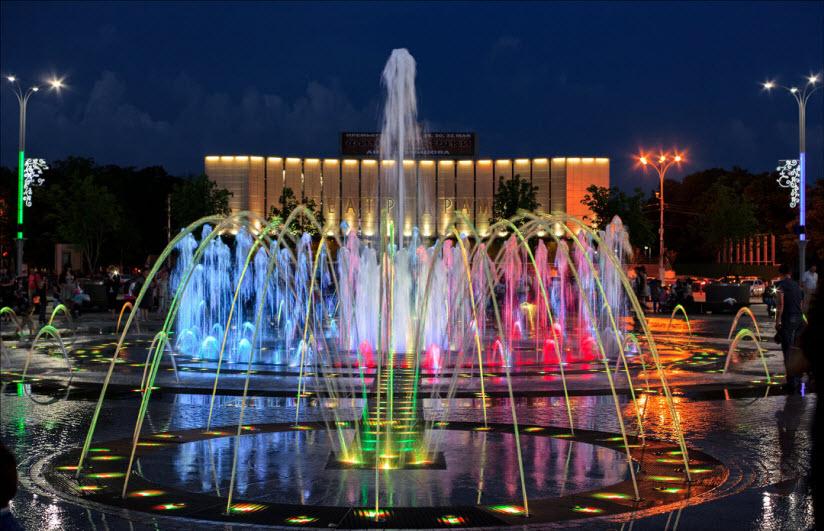 Театральный фонтан