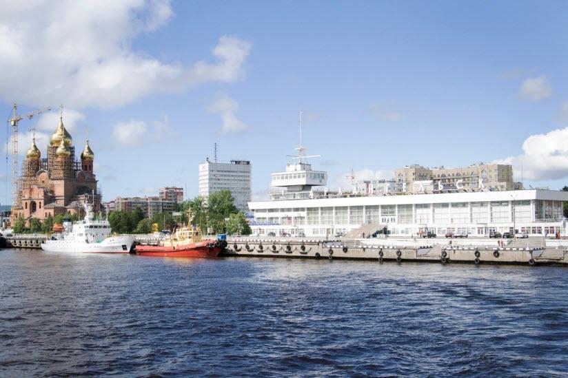 Морской речной вокзал