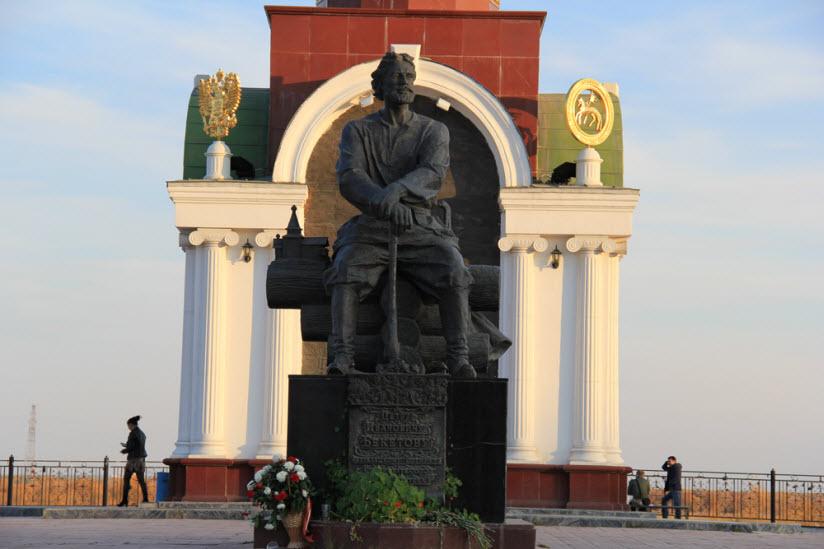 Памятник П.И. Бекетову