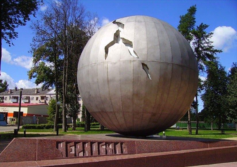 Памятник жертвам Чернобыля