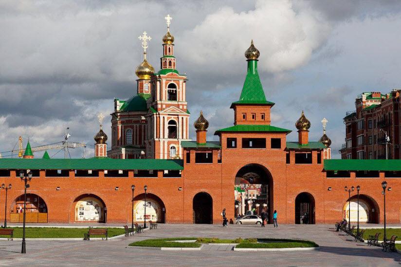 Кокшайский кремль