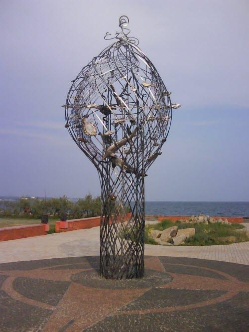 Арт-объект «Дары моря»