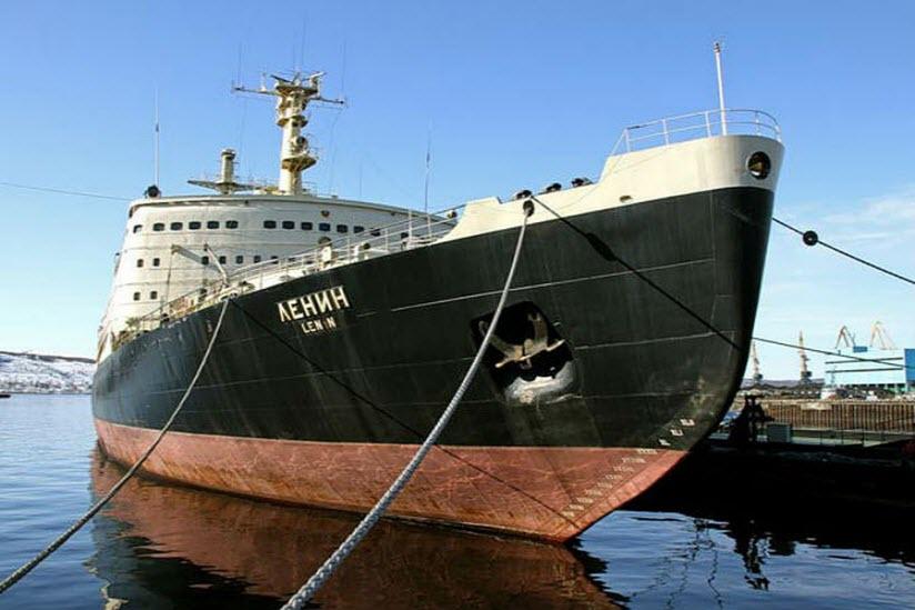 Атомоход-музей «Ленин»