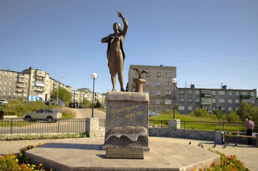Скульптура «Ждущая»