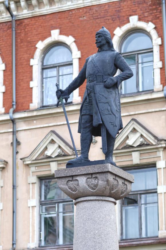 Памятник Торгильсу Кнутссону