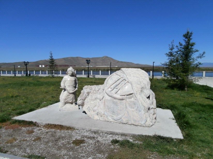 Скульптура «Мой дом»