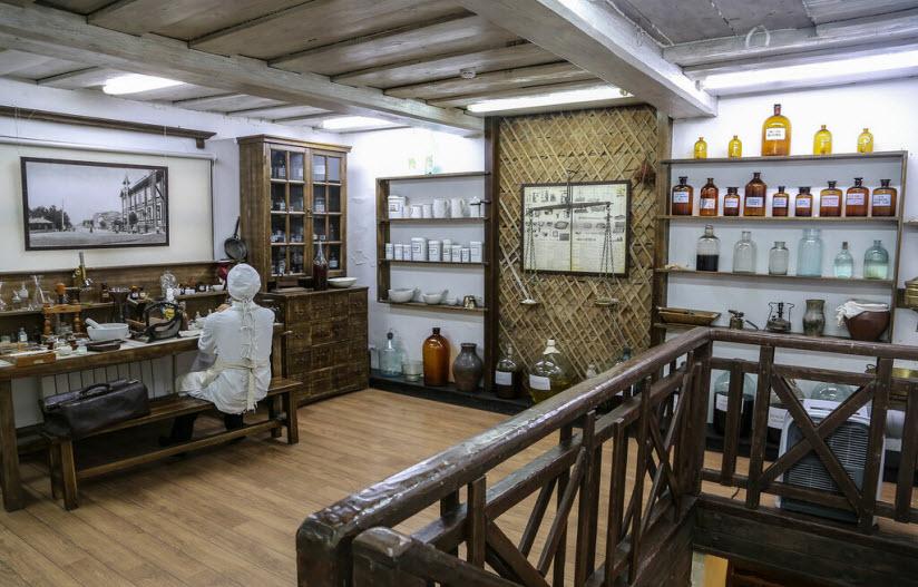 Горная аптека-музей