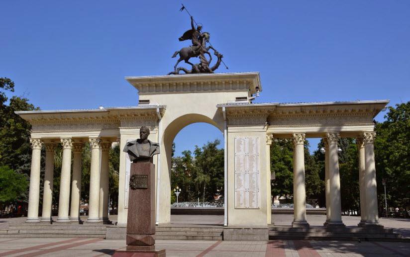 Мемориальная арка «Ими гордится Кубань»