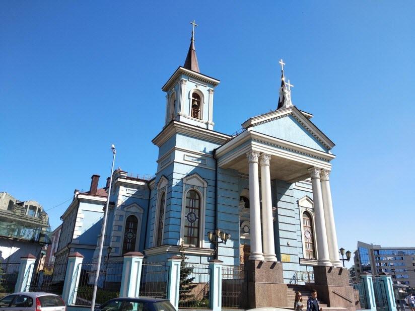 Храм воздвижения Святого Креста