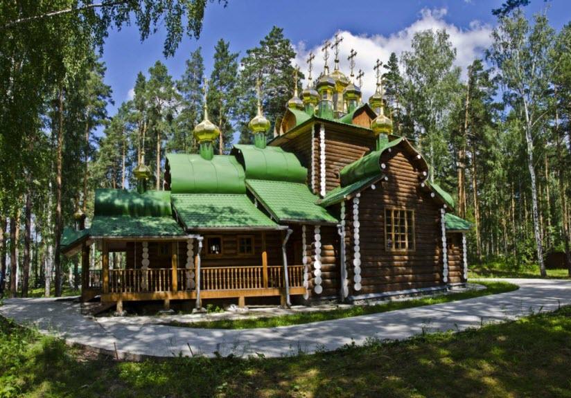 Мужской монастырь Ганина Яма