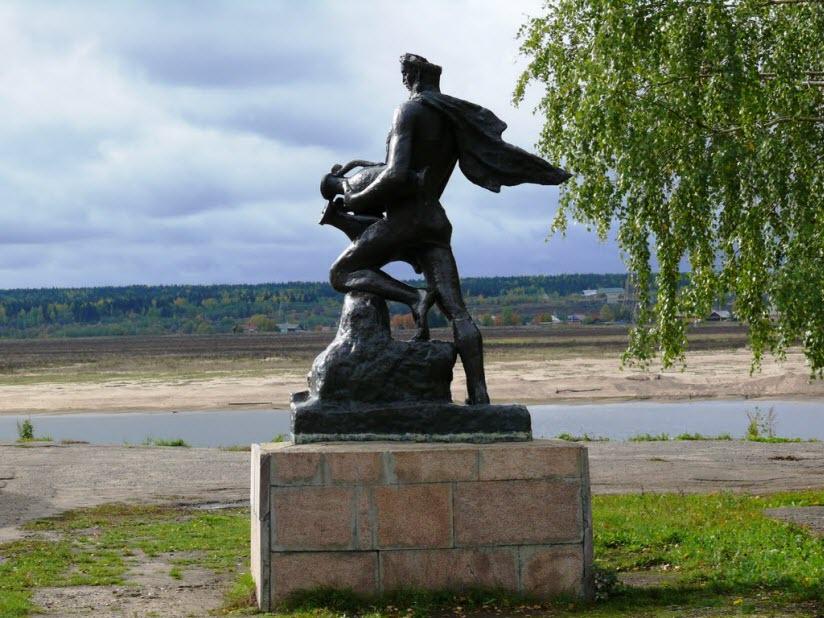 Скульптура Водолей