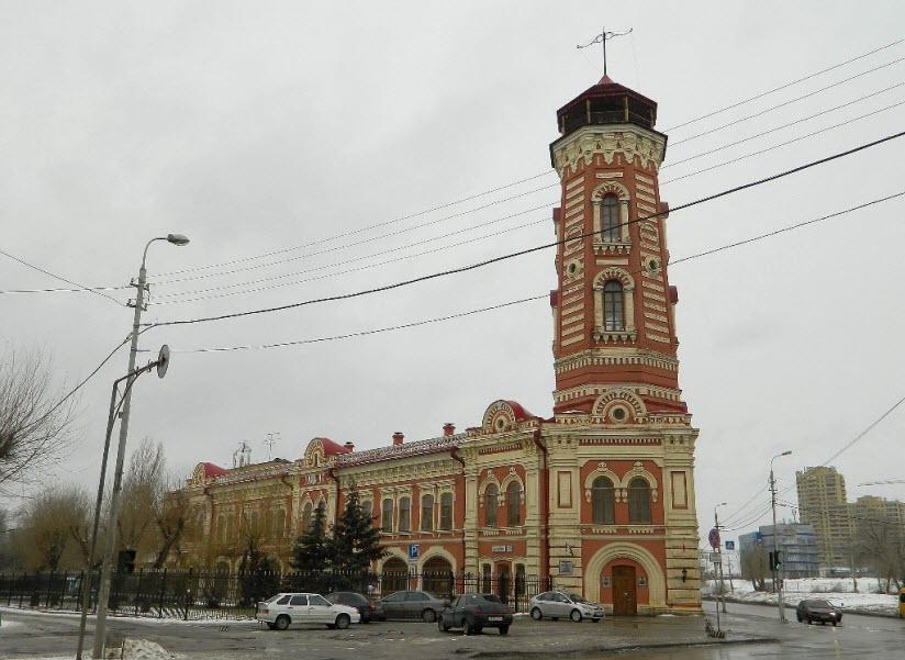 Здание Царицынской пожарной команды