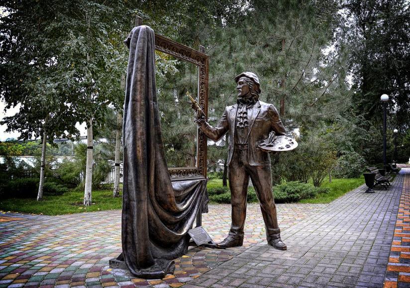 Скульптура «Художник»