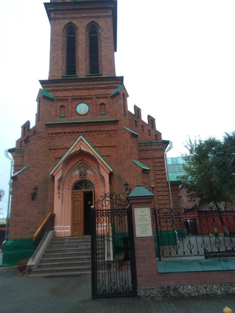 Храм Благовещения Гаврииловского монастыря