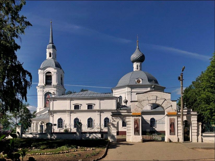 Храм во имя Святых мучеников Александра и Антонины Римских