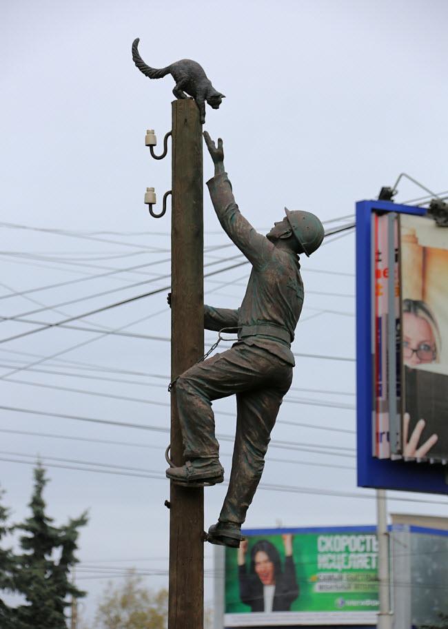 Памятник Монтеру
