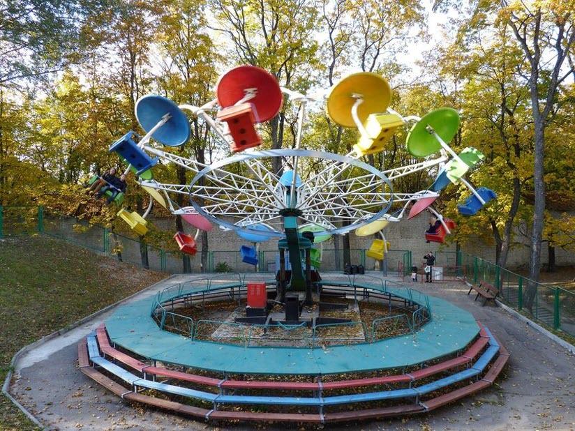 Парк аттракционов «Летний сад»