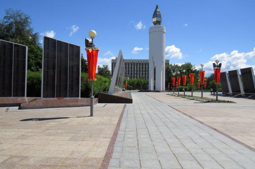 Мемориал на площади Памяти