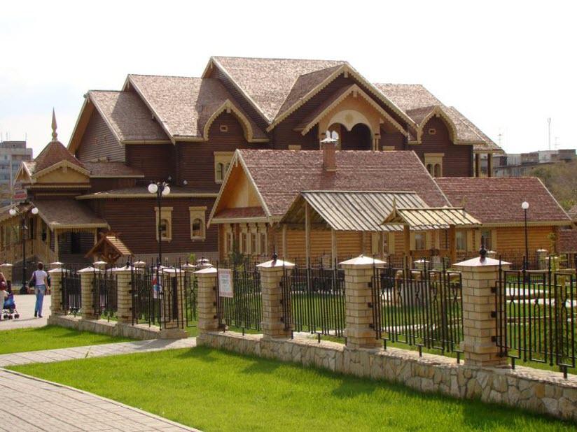 Историко-культурный комплекс Национальная деревня