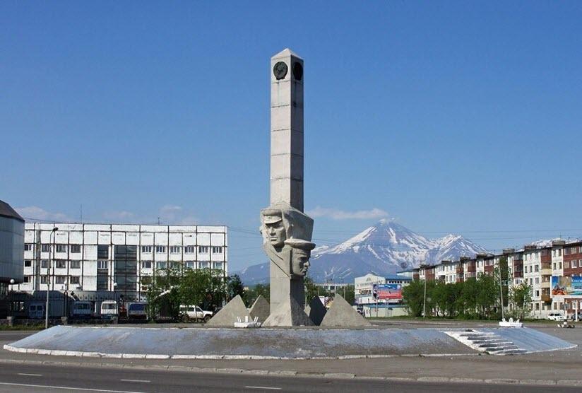 Монумент Славы камчатским пограничникам