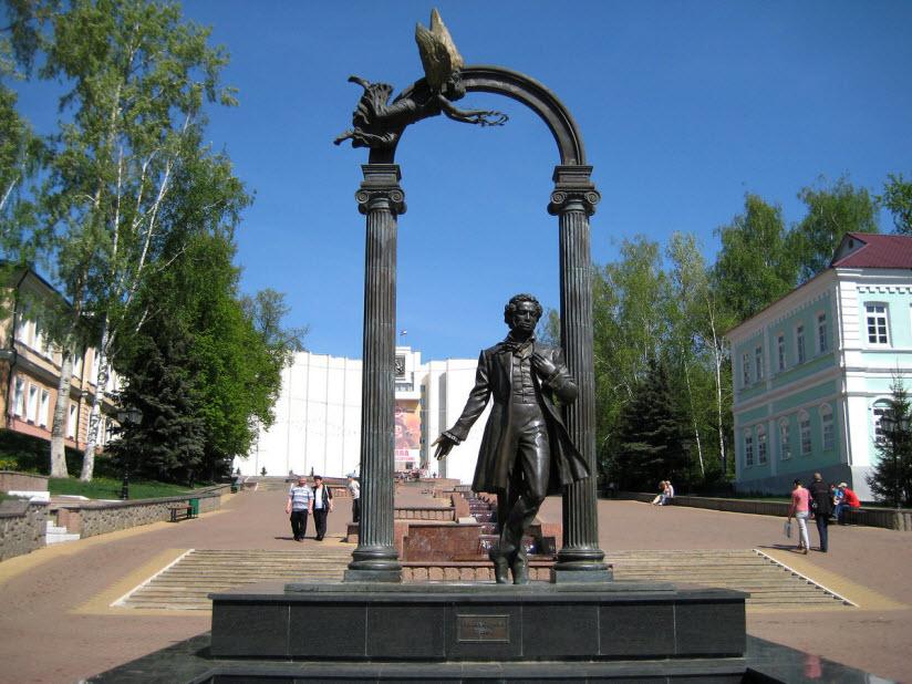 Памятник А. Пушкину