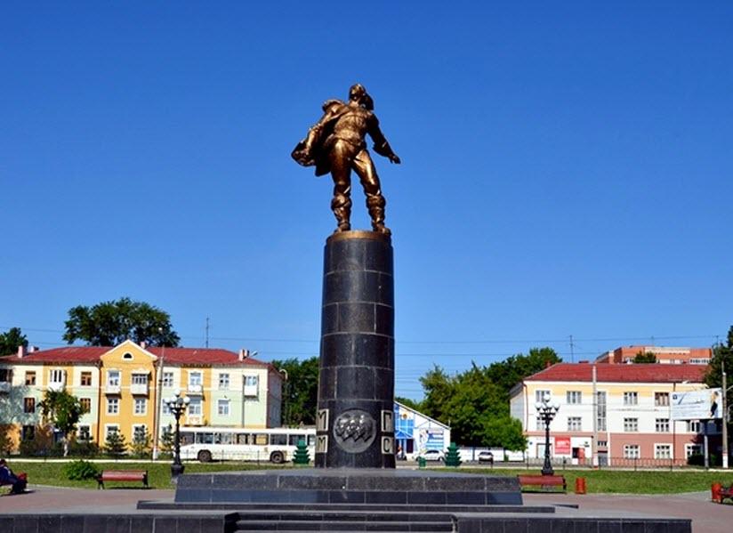 Памятник стратонавтам-героям