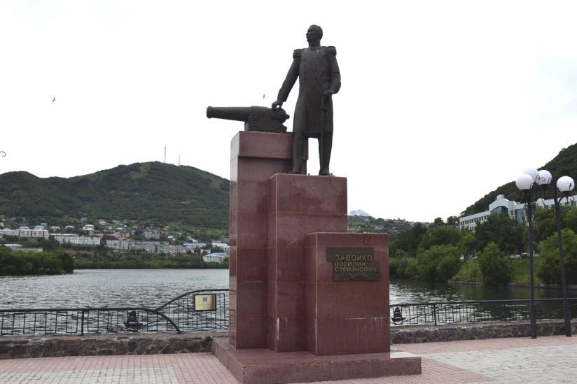 Памятник В. Завойко