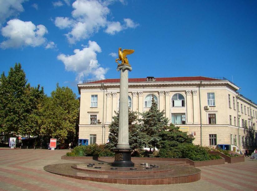 Памятник к 2600-летию Керчи
