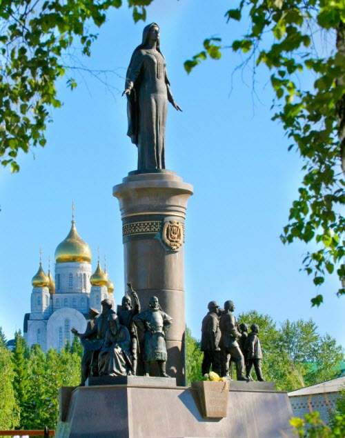 Памятник «Символ Югры»