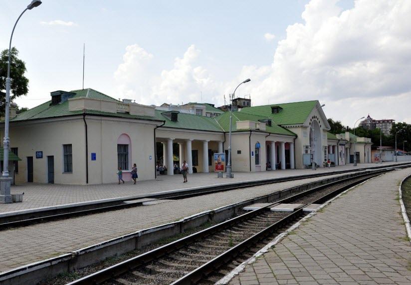 Феодосийский ЖД-вокзал