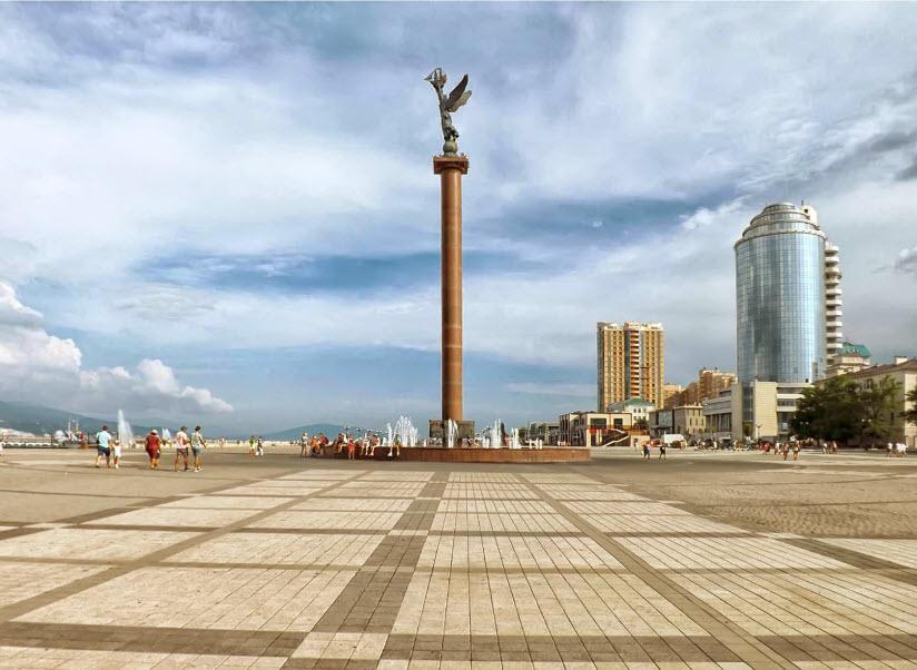 Стела-фонтан «Морская слава России»