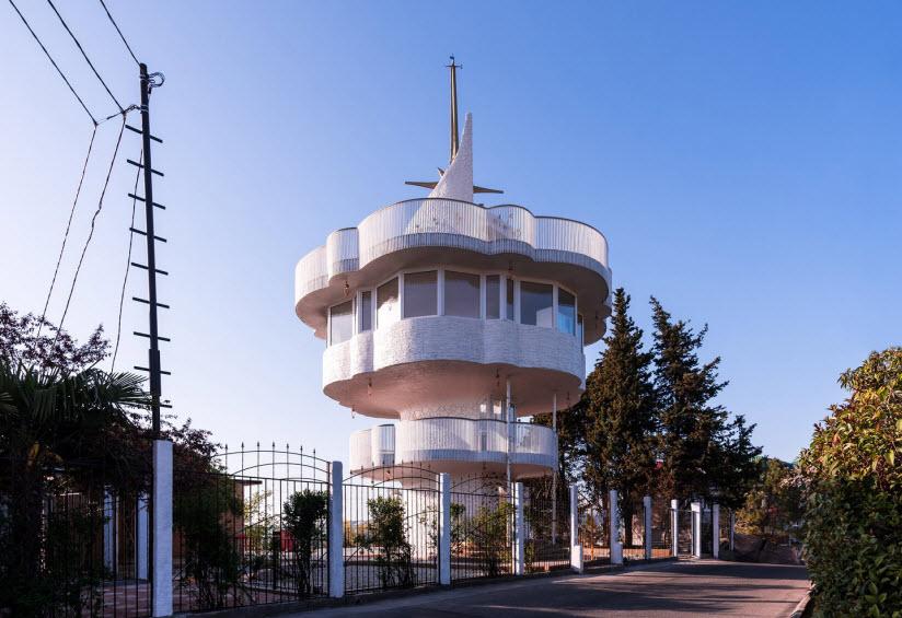 Видовая башня на горе Батарейка