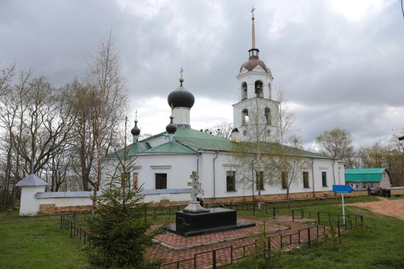Никольская церковь в Жегалово