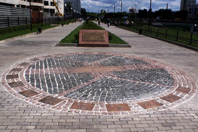 Парк Солнечных часов в Щелково