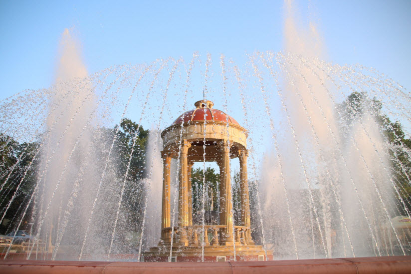 фонтаны в Кабардинке