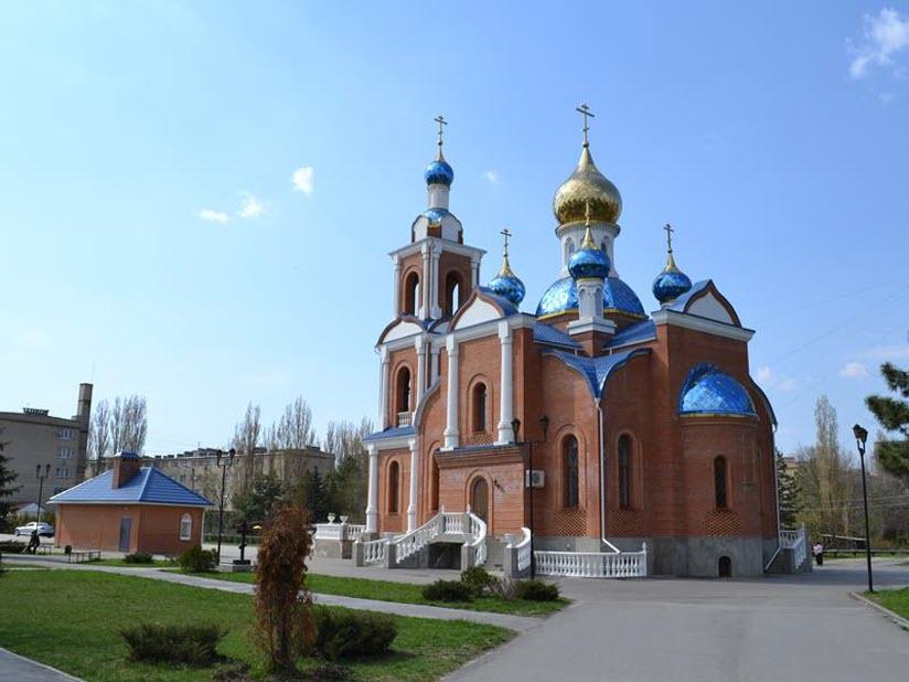 Полковая церковь Азовской иконы Божией Матери
