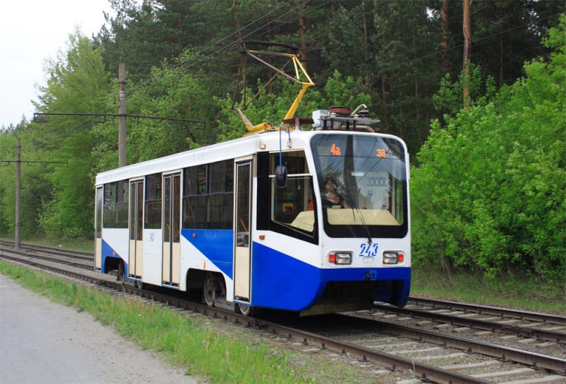 Бийский трамвай