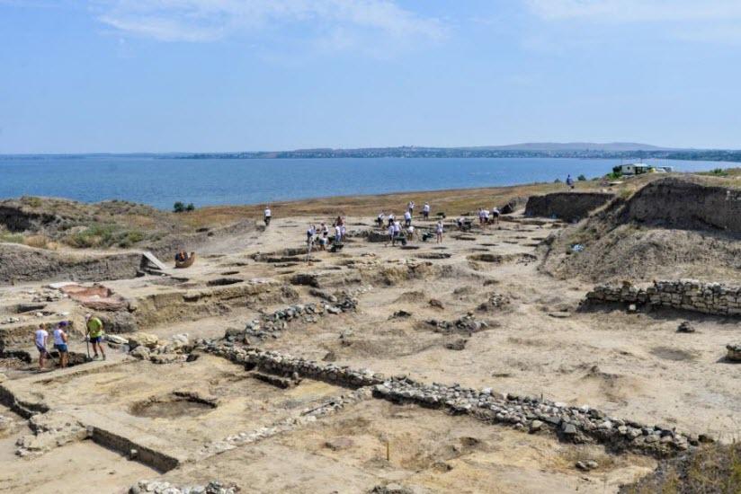 Руины Фанагории