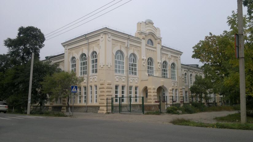Здание бывшего реального училища