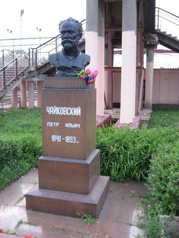 бюст Чайковского