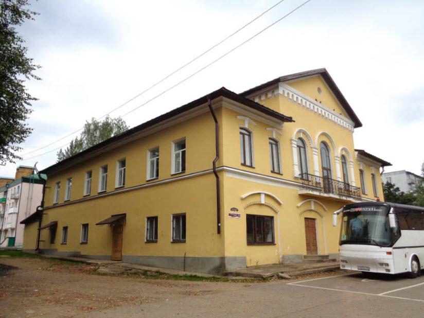 Здание вольного Пожарного общества