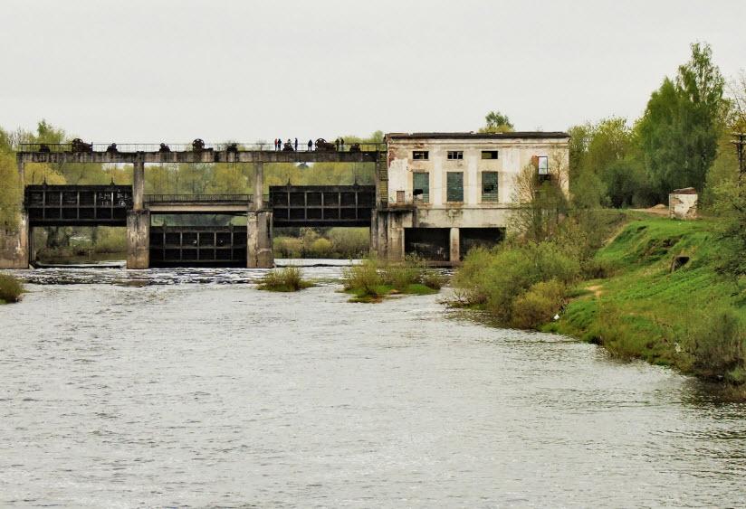 Бывшая гидроэлектростанция