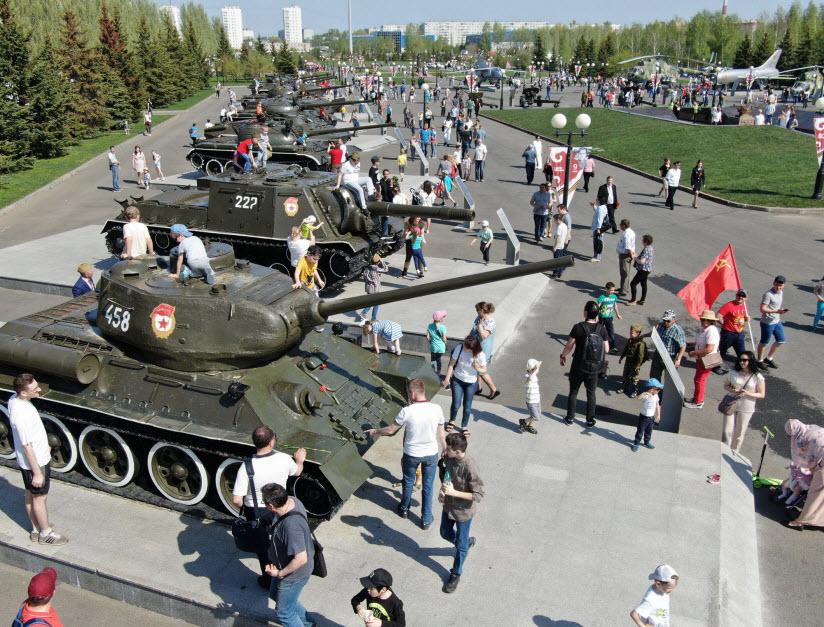 День Победы в парке Победы