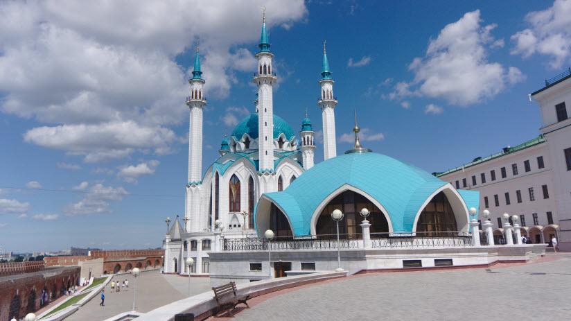 фото мечети Ирек снаружи