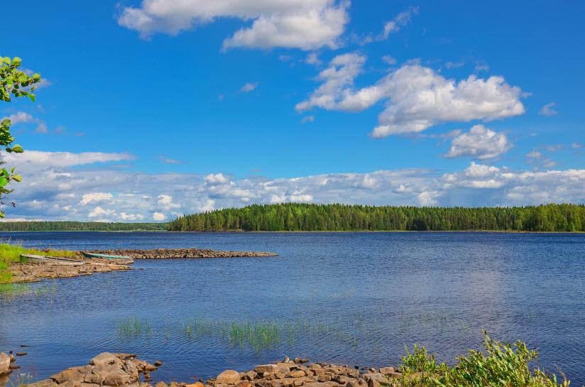 фото озера Янисъярви