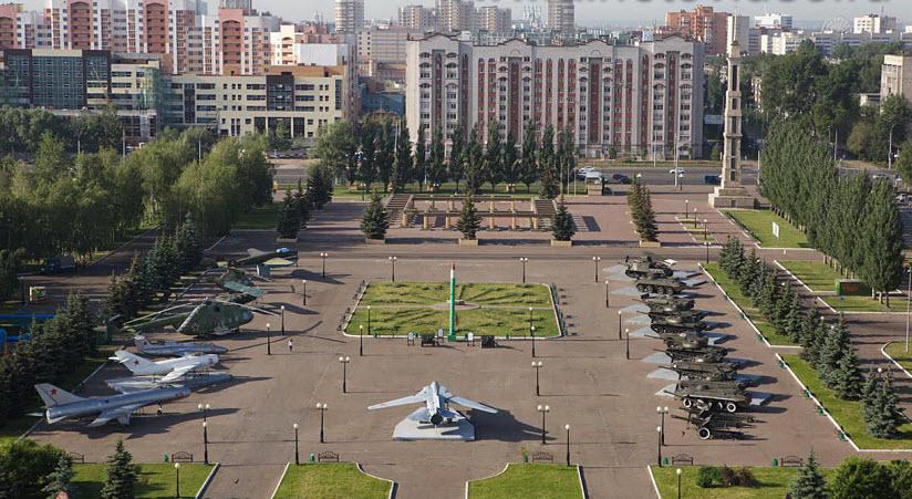 фото парка Победы с высоты